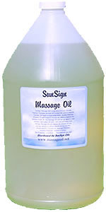 All Natural Massage Oil. Coconut Oil